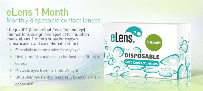 eLens 1 Month